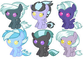 Thunderlane/Cloudchaser Adopts by sugarfate