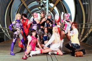 Tekken Tag Tournament 2 cosplay by Nebulaluben