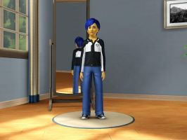 Sims 3 Equestria Girls - Young Flash Sentry pic 1 by Magic-Kristina-KW