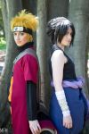 Naruto and Sasuke by MFM-Photography