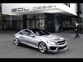 Chrome Mercedes-Benz CL63 AMG by EDLdesign
