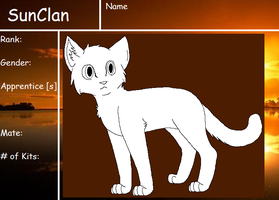 SunClan reference sheet by skyclan199