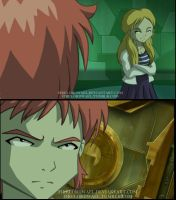 Aelita's Death Glare by FireLordWael