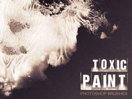 Toxic Paint Brushes by analeewon