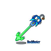 KeyBlade-RockBuster by netro32