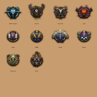 World of Warcraft Dock Icons by Ryvermist