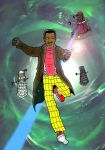 Doctor Who - Lenny Henry by mikedaws