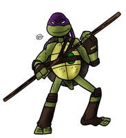 Ninja Turtles are on the scene by theEyZmaster