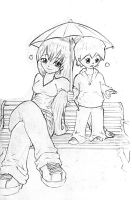 Rainy Days by chibiBiscuit