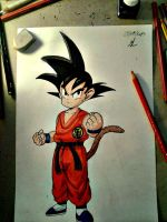 kid Goku 2. by ManolisLiviakis