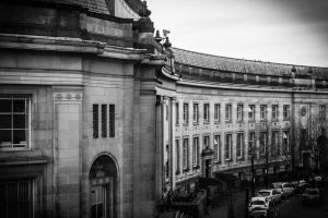 Le Mans Crescent - High View by ncaph