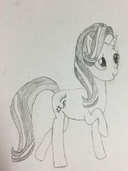 Starlight Glimmer sketch by MLPpencilArt