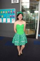 the 'green' bag costume by tanmei