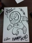 Chibi Spider-Man by ChibiCelina