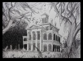 The haunted mansion by mibagelly