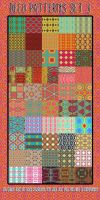 Deco Patterns Set 3 by HGGraphicDesigns