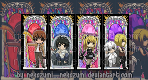 DEATH NOTE - BOOKMARK SET by Jennaris