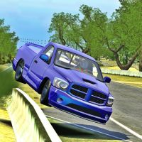 Blue Monster Car X Drift Racing by Inamson1