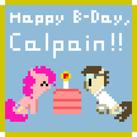 Happy Birthday, Calpain! by Zztfox