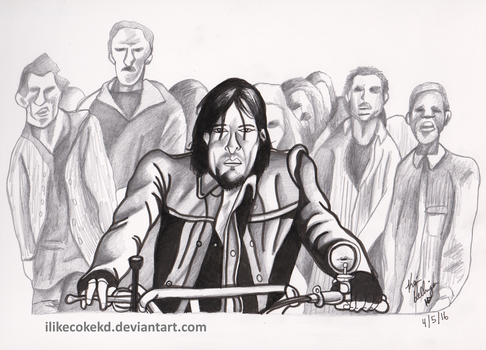 Daryl In The Zone by ilikecokekd