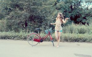 Me and my bicycle by Yusik