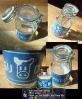 Lon Lon Milk Bottle II by CarelessSympathy
