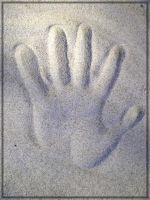 The stamp of hand by D173190