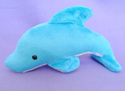 Dolphin Plushie by radtastical