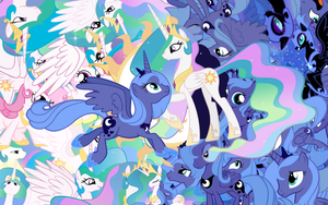 Princess explosion wallpaper by Starlyk