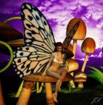 Butterfly Fairy by DarkestDreamers