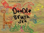Doodle Brush set by Solarmousetrap