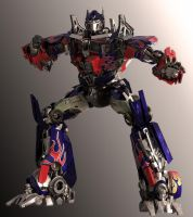 Optimus Prime DOTM Pose 2 by yongkykun