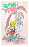 Summer Time - Huntard Edition by silverteahouse
