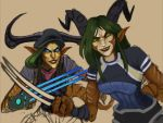 WorkworkWildstar Draken Twins Wip by ultema