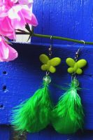 St Patrick's Day by elleira5jewellery
