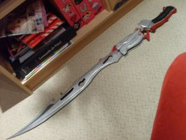 Gunblade Painted by Kawaii-Kioko