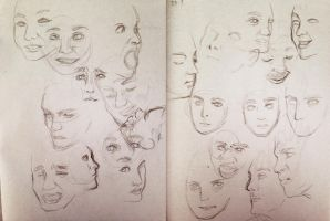 29/9 60-second faces by enoxico