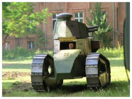 Renault FT by WormWoodTheStar