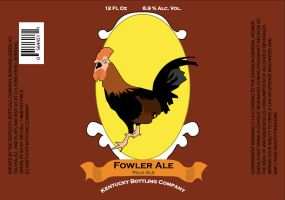 Fowler Ale Label by Stienf9