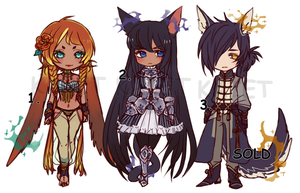 Mixed Venia adoptable batch (CLOSED) by Kaiet