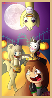Contest: Halloween with Mar and Mei by princessvanina