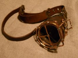 A steampunk mono-goggle by ChanceZero
