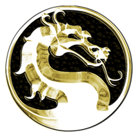 Gold Mortal Kombat Logo by TheOnlyBezo