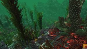 UPGRADE - Unity : Underwater Plants v.2 by Nobiax