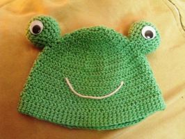 Froggy hat by 9kitsune9