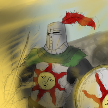 Solaire by bloodlordofdeath7