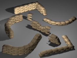 Firearms: Source Sandbags by moeuf