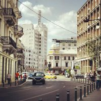 Pieces of  Bucharest I by IoaSan