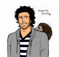 Nealer Hedgehog... by zombiepencil