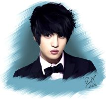 Jaejoong commission by RollingAlien